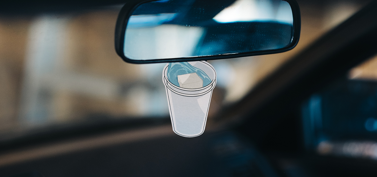 Double Cup Air freshener