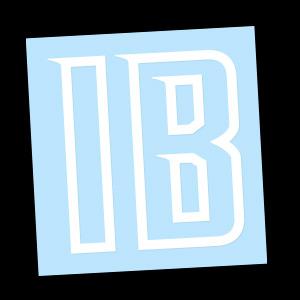 Bold Logo (White) Decal