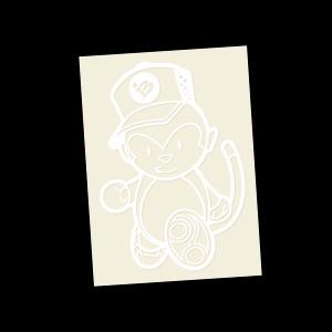 Grease Monkey (White)
