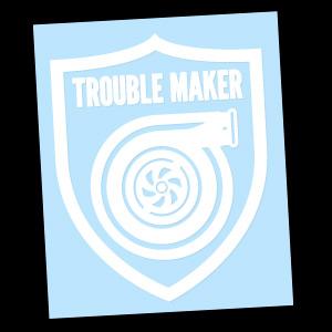 Trouble Maker (White)