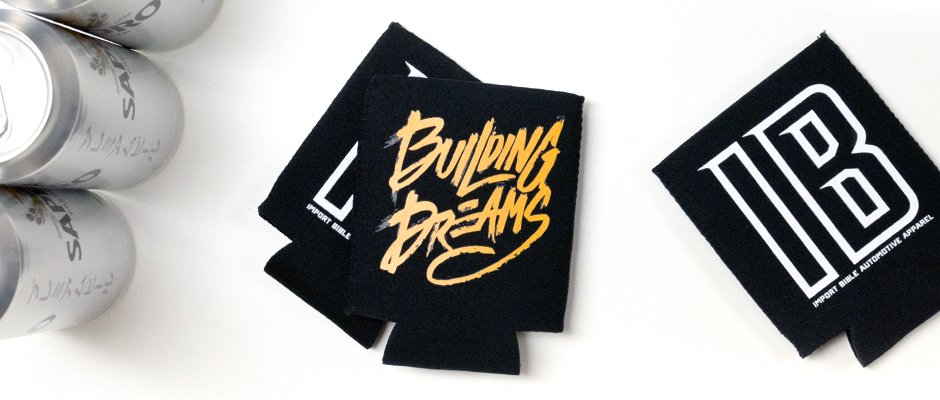 Building Dreams Koozie