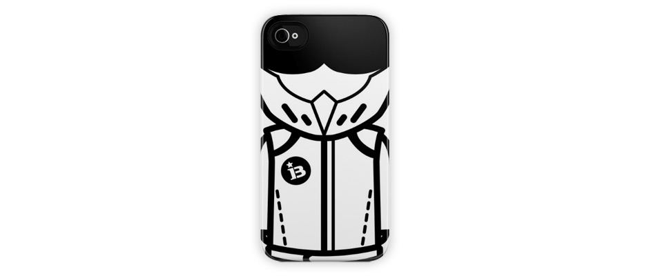 Bathing Stig Phone Case
