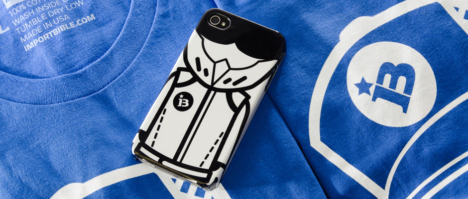 Bathing Stig iPhone 4/4S Case