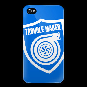 Trouble Maker iPhone Case