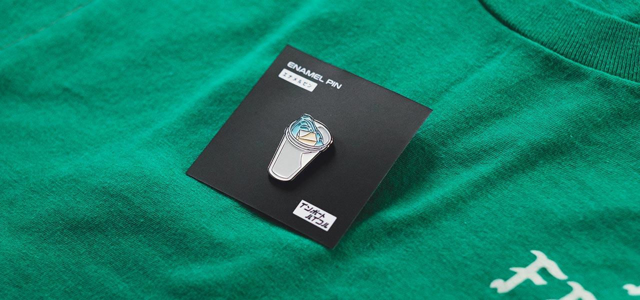DOUBLE CUP ENAMEL PIN