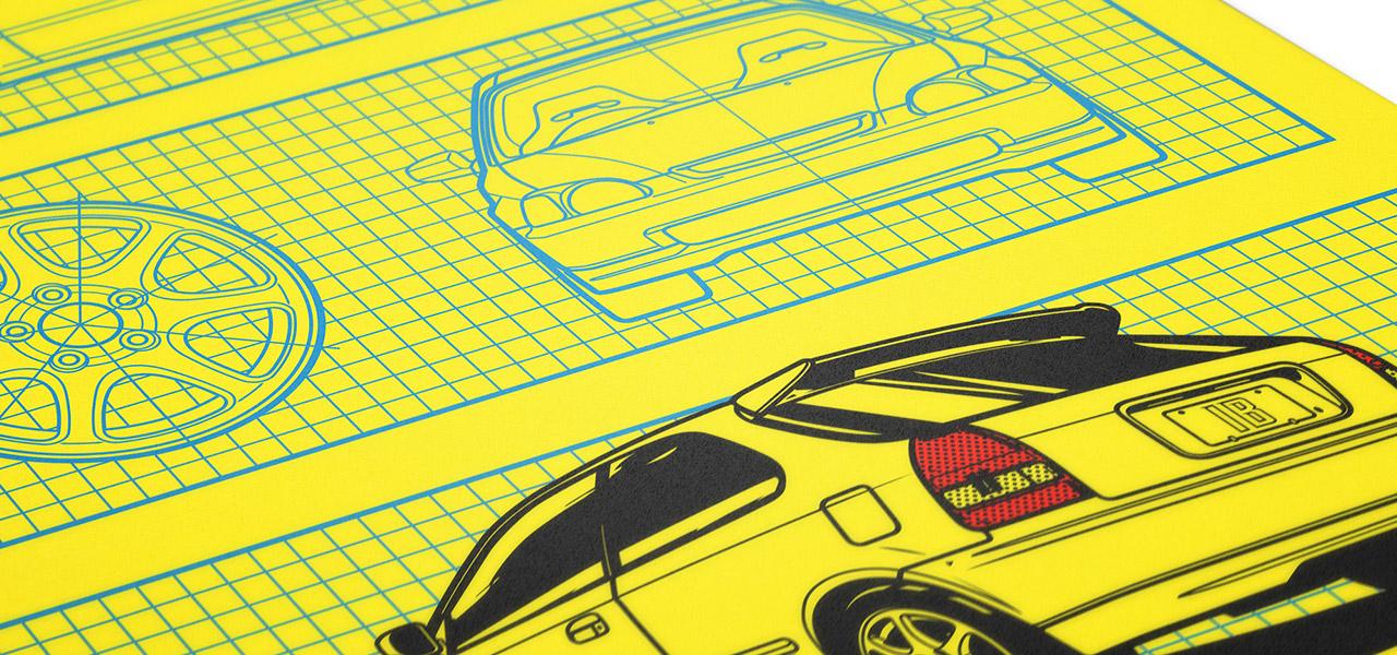 Blueprint (EK9) Poster