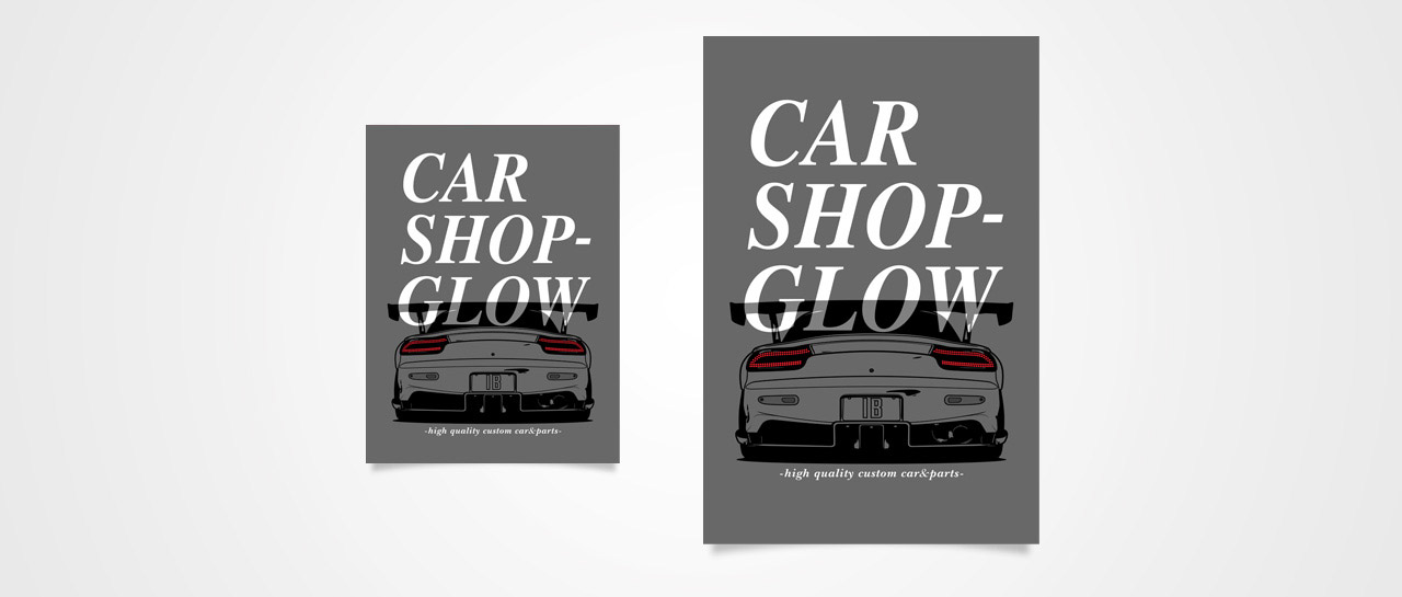CarShopGlow (FD3S) Poster