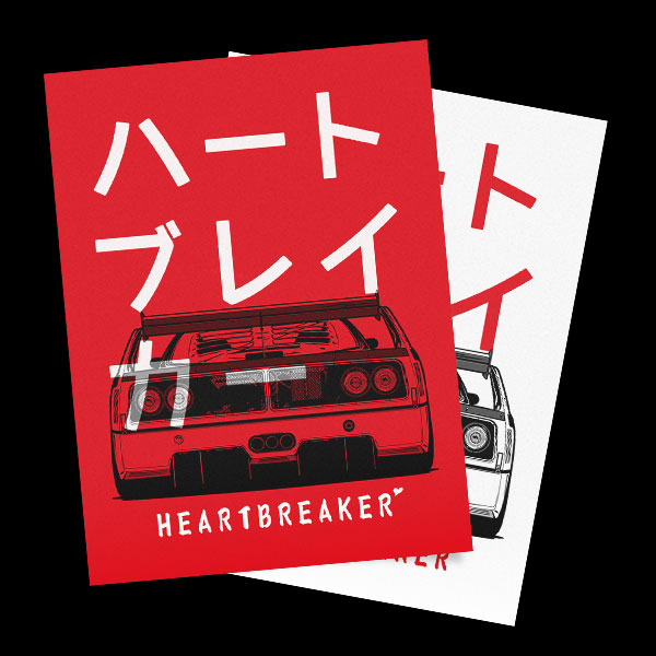 Heartbreaker (F40LM) Poster
