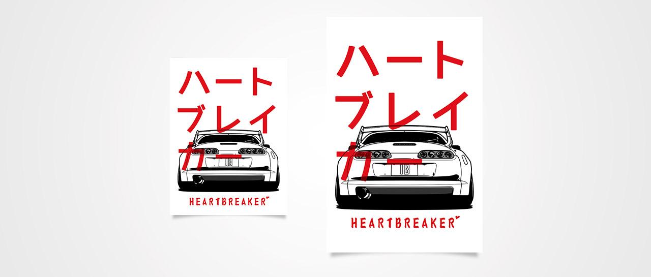Heartbreaker (JZA80) Poster