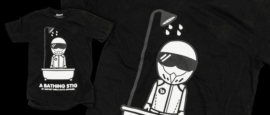 Bathing Stig (Black) Shirt