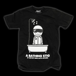 Bathing Stig (Black) shirt