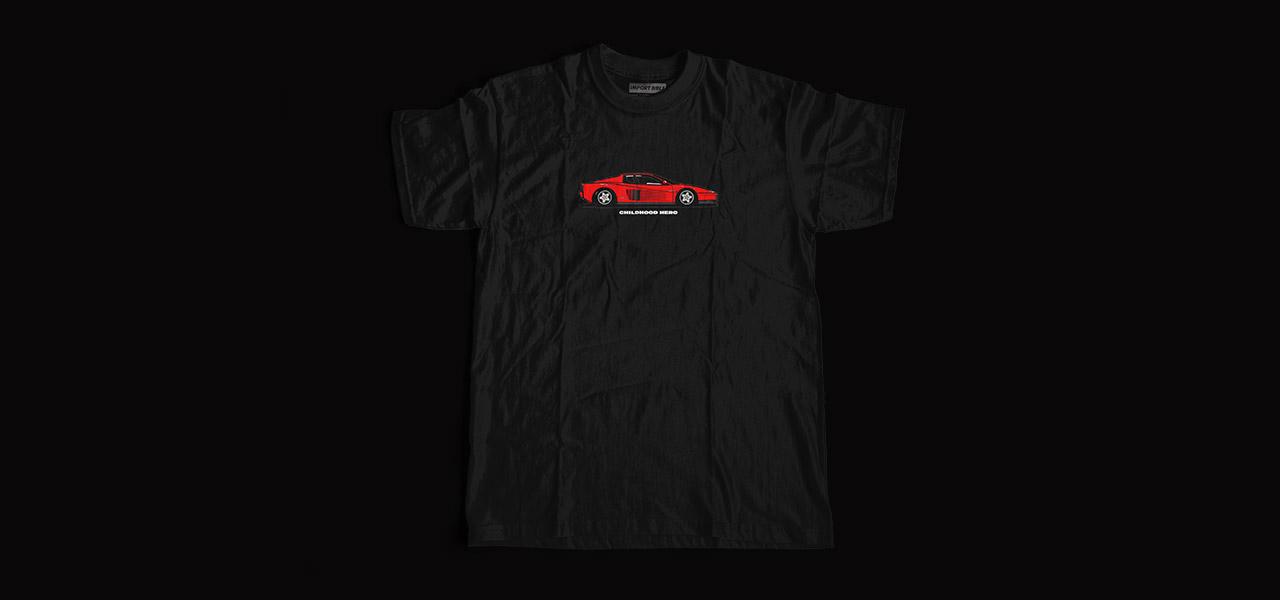 Childhood Hero (Testarossa) Shirt