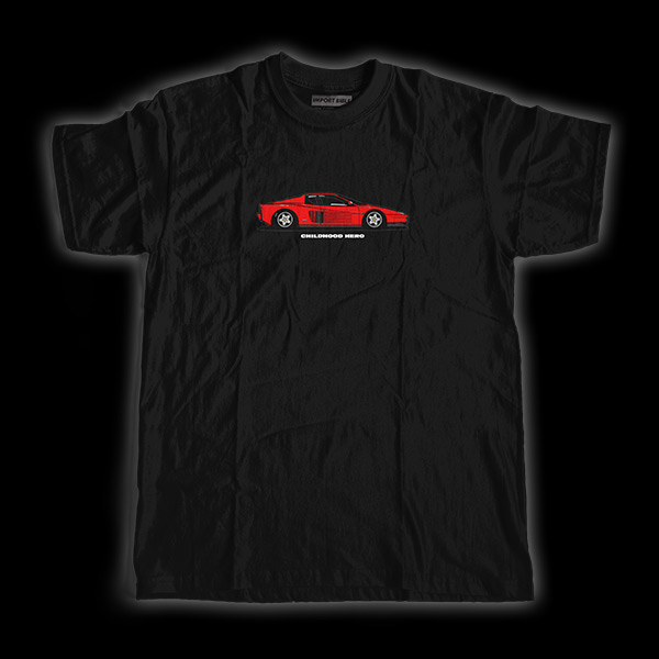 Childhood Hero (Testarossa) Shirt