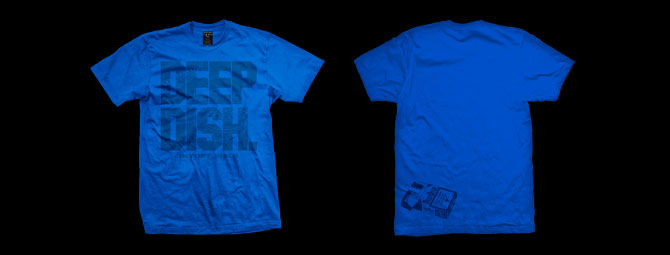Deep Dish (Blue) Shirt