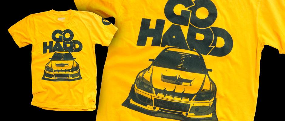Go Hard (Gold) Shirt