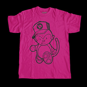 Grease Monkey (Raspberry) Shirt