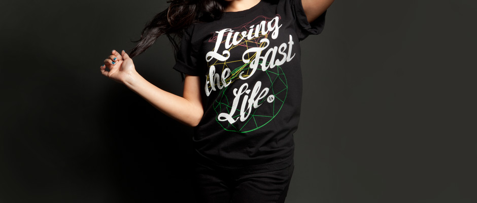 Living Fast (Black) Shirt