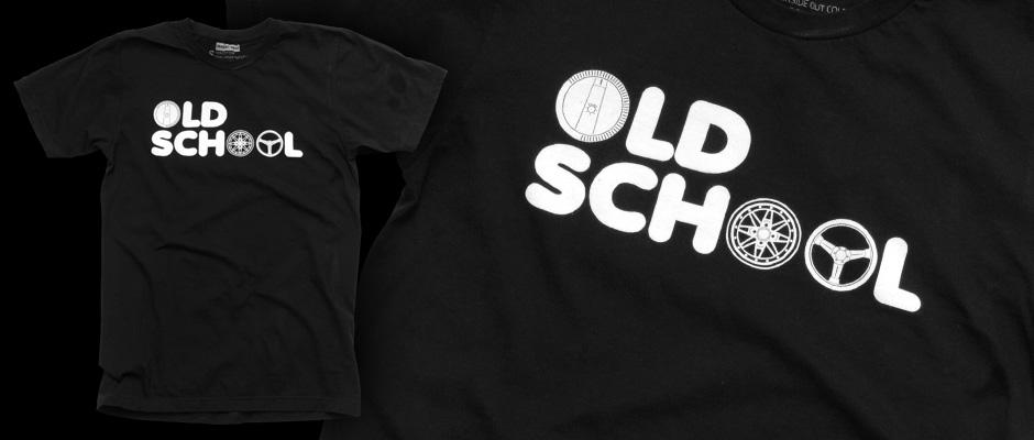 Old School (Black) Shirt