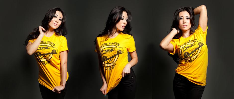 Seventh Heaven Gold Shirt