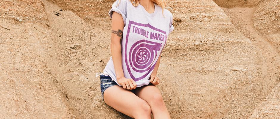 Trouble Maker (Heather) Shirt