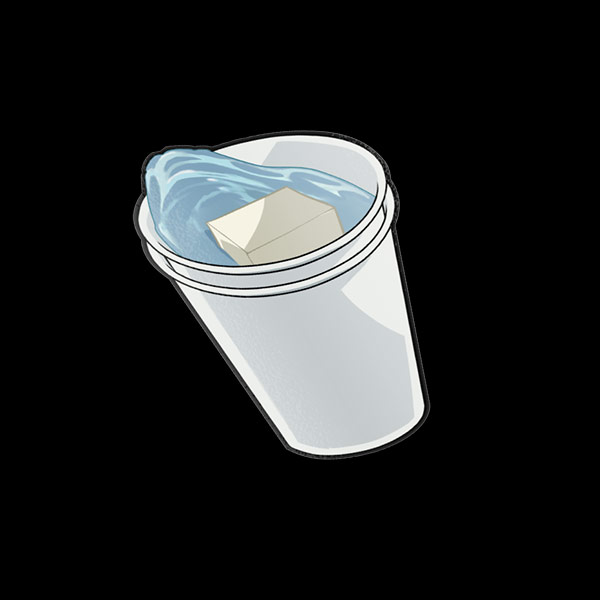 Double Cup V2 Sticker