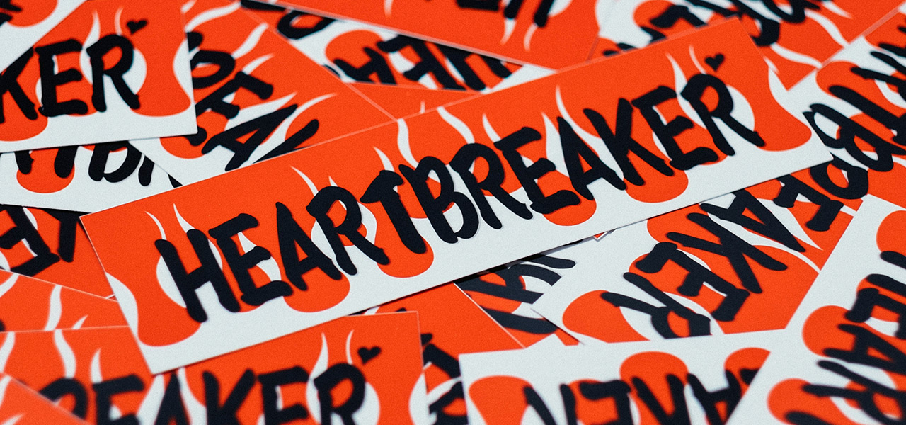 Heartbreaker Ignite sticker