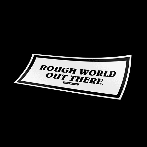 Rough World (RWB) Sticker