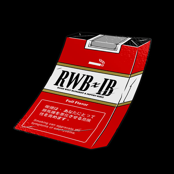 Smoke Pack (RWB) Sticker
