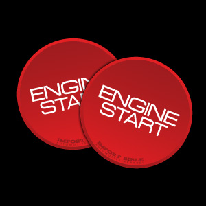 Start Button Sticker