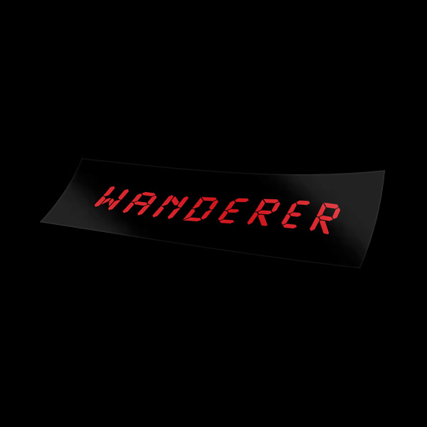 Wanderer Sticker