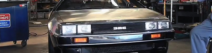World's fastest DeLorean