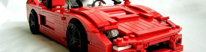 Lego Honda NSX