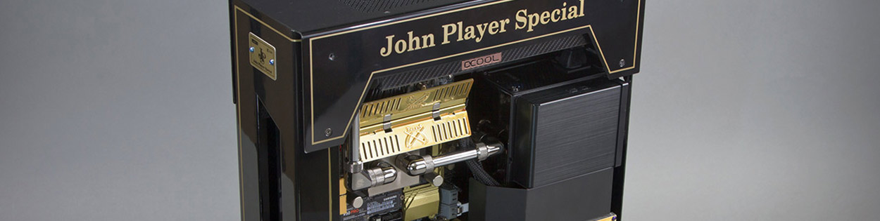 JPS Aryton Senna inspired custom PC