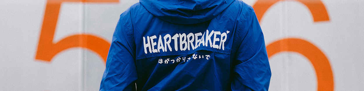 Heartbreaker jacket, Drift King long sleeve and Special Delivery tee