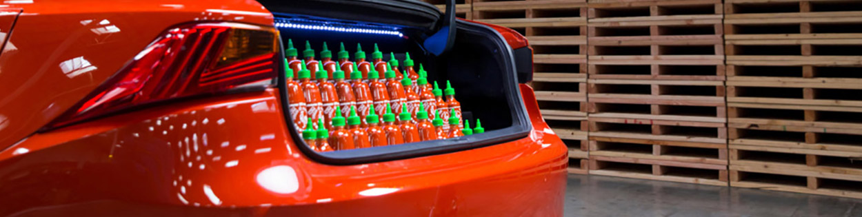 Lexus x Sriracha IS