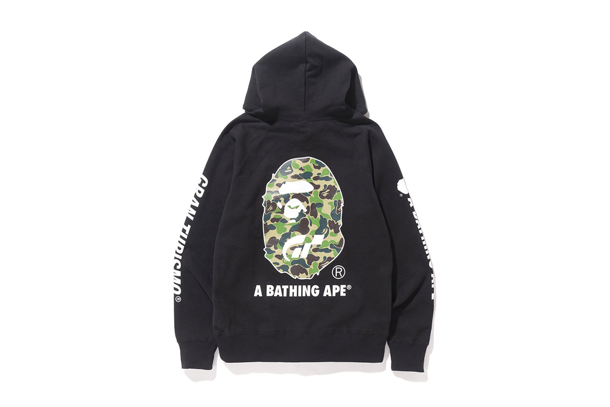 c8d771fd The capsule collection of apparel featured each brands familiar trademark  graphics with BAPE using the camouflage and A.S.S.C using their trademark  graphics ...