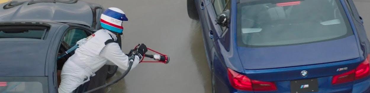 BMW's reclaims longest drift