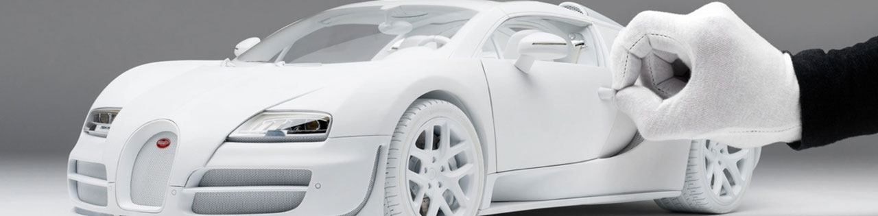 $12,000 Bugatti Veyron scale model by Amalgam Collection