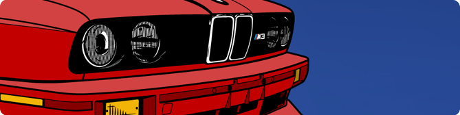New E30 M3 + R35 GT-R Wallpaper