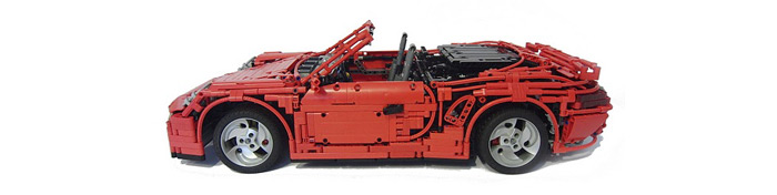 Ridiculous Lego Porsche 911