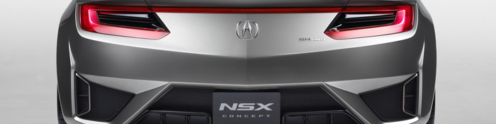 Acura unveils the new NSX at the NAIAS 2012