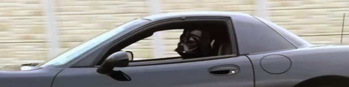 Darth Vader's new ride