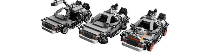 Back to the Future Lego set released