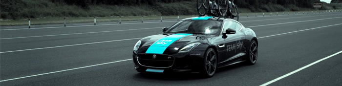 Tour de France F-Type support car